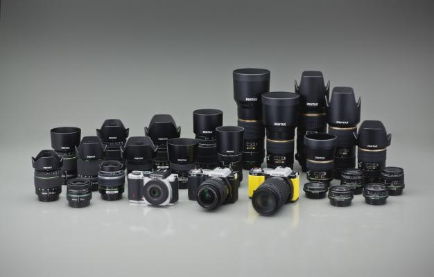 Pentax K-mount lens system