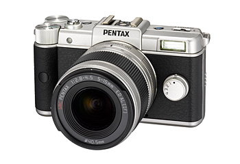 Pentax Q Limited Silver Announced