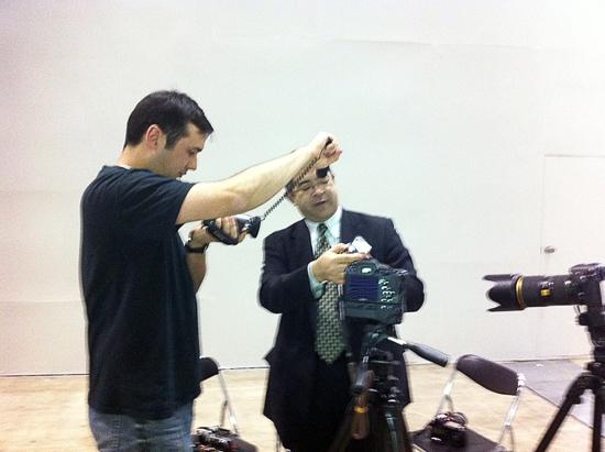 CP+ Interview with Hiraku Kawauchi of Pentax