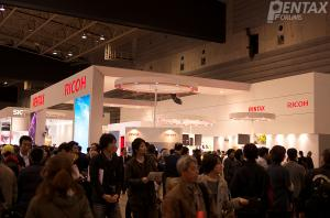 CP+ 2012 In Photos: Pentax Booth