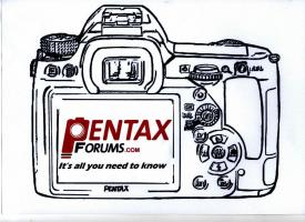 Official PentaxForums T-Shirts for 2012