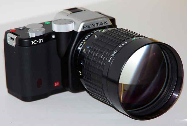 Pentax K-01: Initial Hands-On Impressions