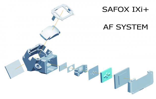Pentax K-30 Autofocus System: SAFOX IXi+