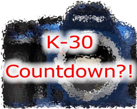 Pentax K-30 Countdown