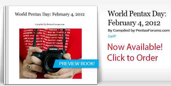 World Pentax Day Book Now Available!