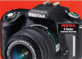 US Extended Warranty Available for the Pentax K-30