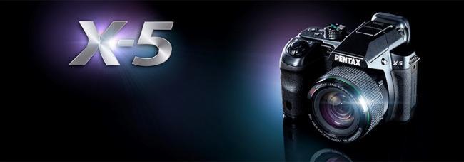 Pentax X-5 Announced