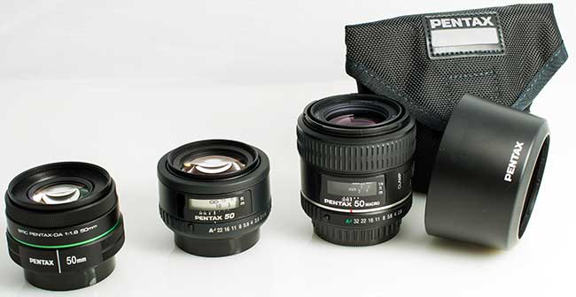 Pentax 50mm Comparative Review Posted