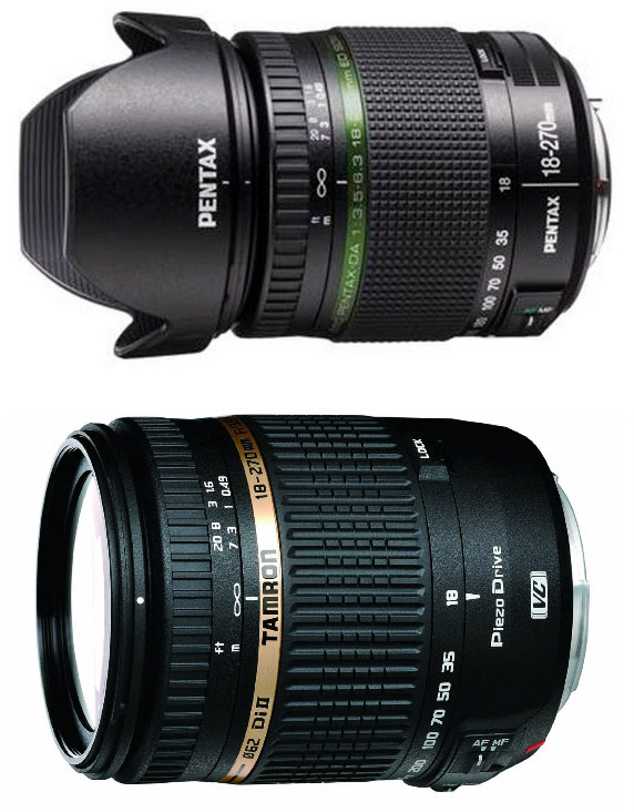 Pentax 18-270mm vs Tamron 18-270mm
