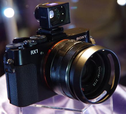 Sony RX-1 Back