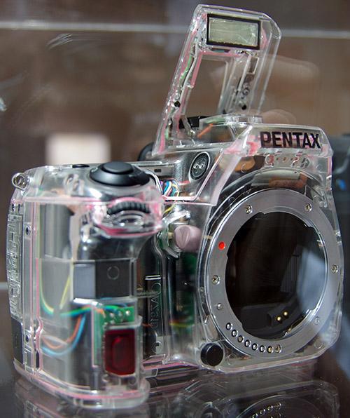 Transparent Pentax K-5 II
