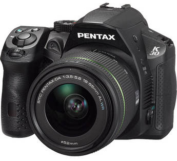 Pentax K-30 & 18-55mm WR Kit Launched