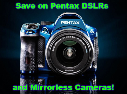 Black Friday: Pentax DSLR Savings