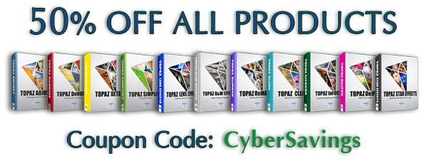 Save 50% on Topaz Photo Editing Plugins