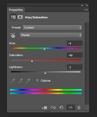 Hue/Satudation Adjustment