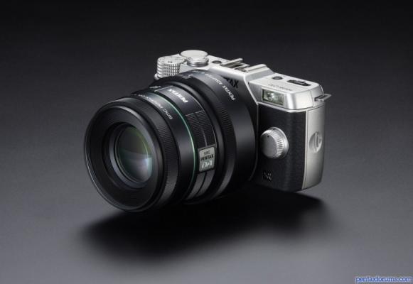 Pentax Q10 with DA 50mm adapted