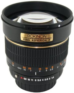 Rokinon 85mm - $239