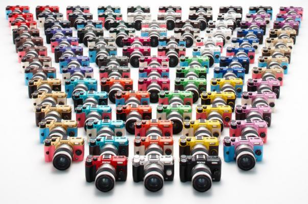 Pentax Q10 Colors
