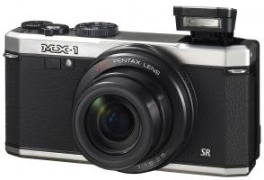 Pentax MX-1 w/Flash up