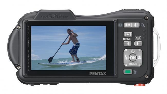 Pentax Optio WG-10 LCD