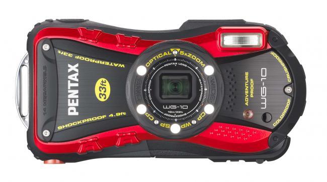 Pentax Optio WG-10 Red