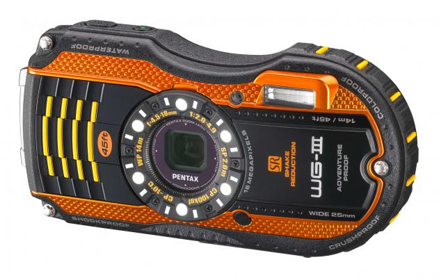 Pentax Optio WG-3 Orange