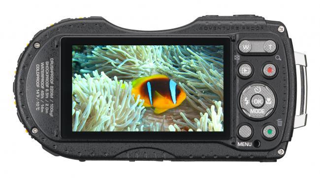 Pentax Optio WG-3 Rear LCD