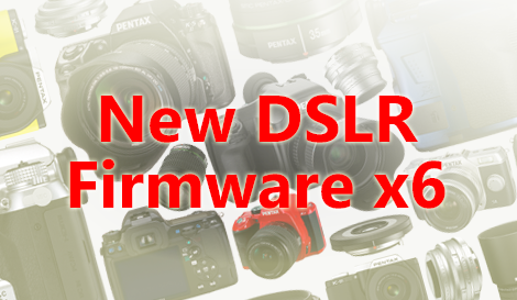 New K-r, K-01, K-30,  K-5, and K-5 II/IIs Firmware