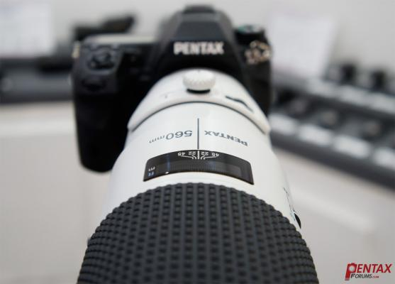 HD Pentax 560mm Lens Officially Available