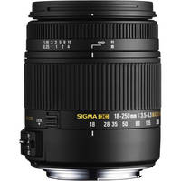 Sigma 18-250mm DC Macro - $150 Rebate