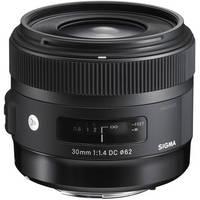 Sigma 30mm F1.4 (DC)