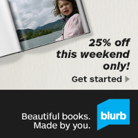 25% off at Blurb