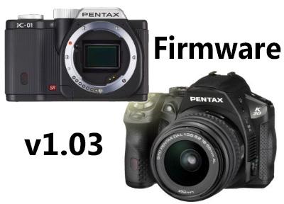 Pentax K-01 and K-30 Firmware v1.03 Released