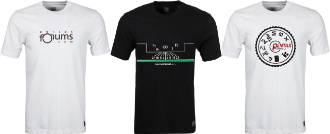 2013 PentaxForums T-Shirt Order Form