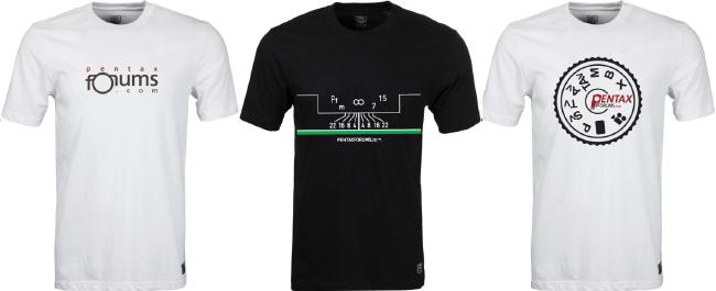 2013 PentaxForums T-Shirt Order Form