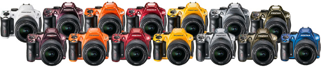 New K-30 Colors from Pentax USA