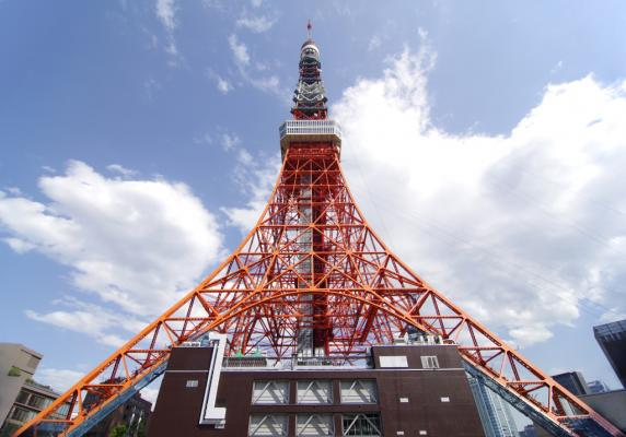 Tokyo Tower w/ Composition Adjustment