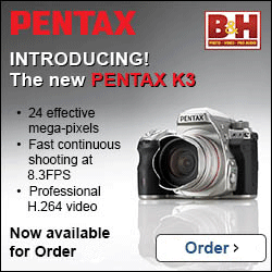 Get the Pentax K-3 DSLR!