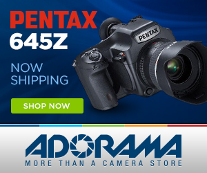 Get the Pentax 645Z DSLR!
