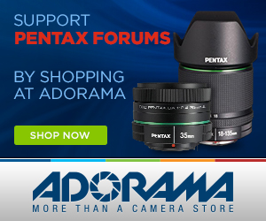 Shop Pentax at Adorama