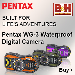 Get the new Pentax WG-3 at B&H