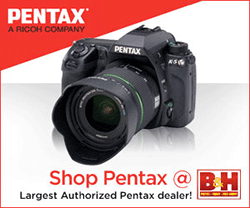 Support us by shopping Pentax at B&H