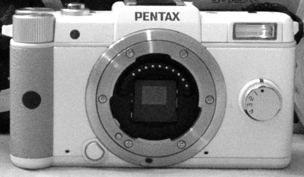 White Pentax Q