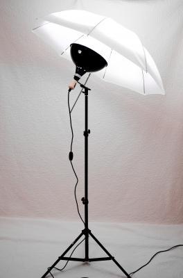 One-Floodlight Umbrella Kit Review