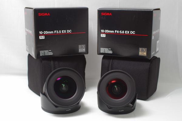 Sigma 10-20mm F3.5 vs F4.0-5.6 Comparative Review