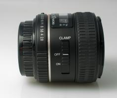 Pentax D FA 50mm F2.8 Macro clamp