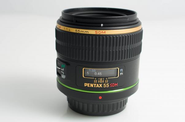 Pentax DA*55mm