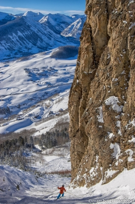 Skiing Crested Butte