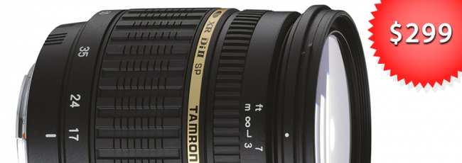 Save Big on the Tamron 17-50mm F2.8