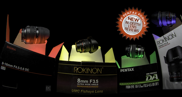 Sigma 8-16mm vs Rokinon 10mm, Pentax 10-17mm, Rokinon 8mm